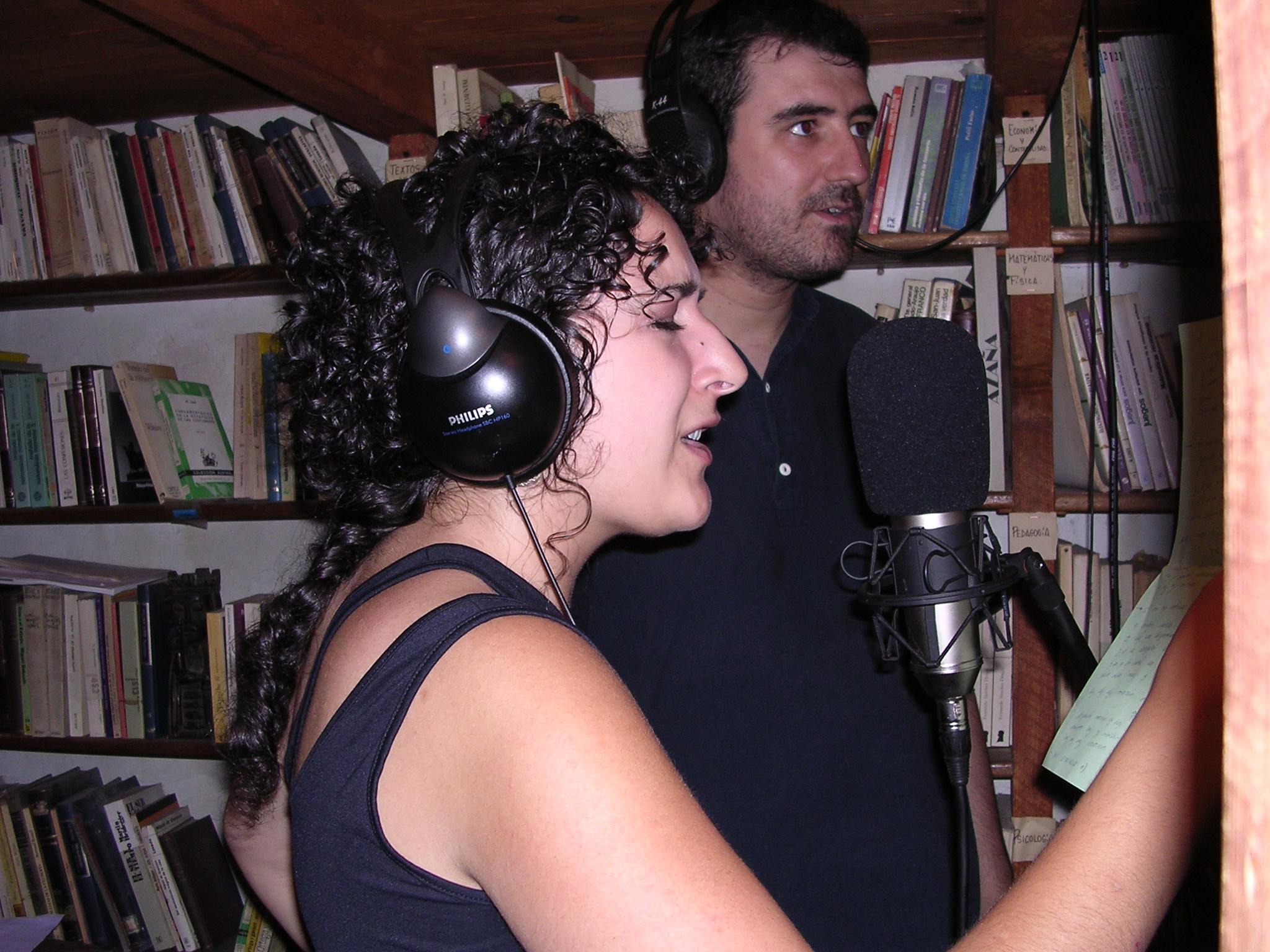 Con Lucía Caramés