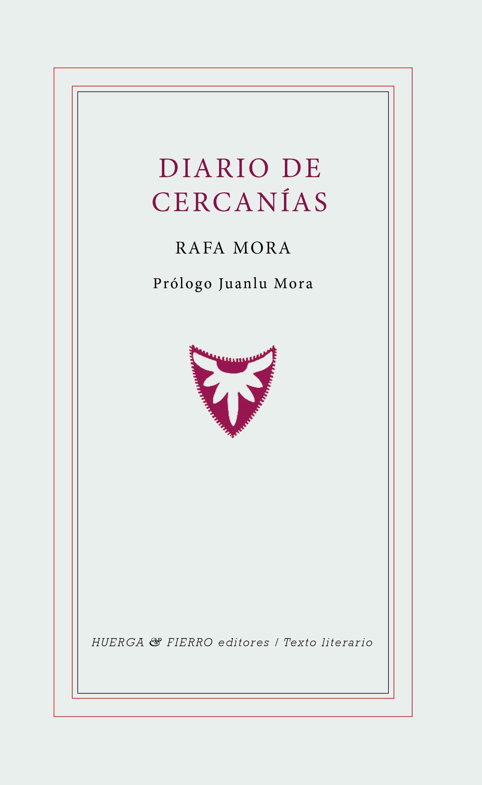 """""""Diario de Cercanías"""" de Rafa Mora  publicado por Huerga y Fierro Editores"""