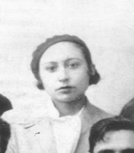 La poeta Lucía Sánchez Saornil