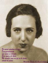 La poeta Margarita Ferreras
