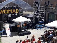 Versos sobre el Pentagrama actuó en el prestigioso festival WOMAD 2019 en Cáceres