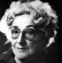 La poeta Rosa Chacel (Fotografía y biografía extraidas de http://www.biografiasyvidas.com/)