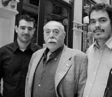 Con el poeta Jesús Hilario Tundidor