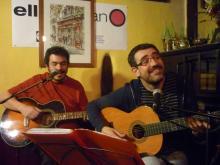 Rafa Mora y Moncho Otero (Fotografía de MAYTE PAÑEDA y RAFA MONTESINOS)
