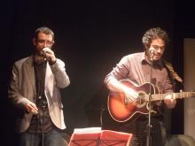 Rafa Mora y Moncho Otero