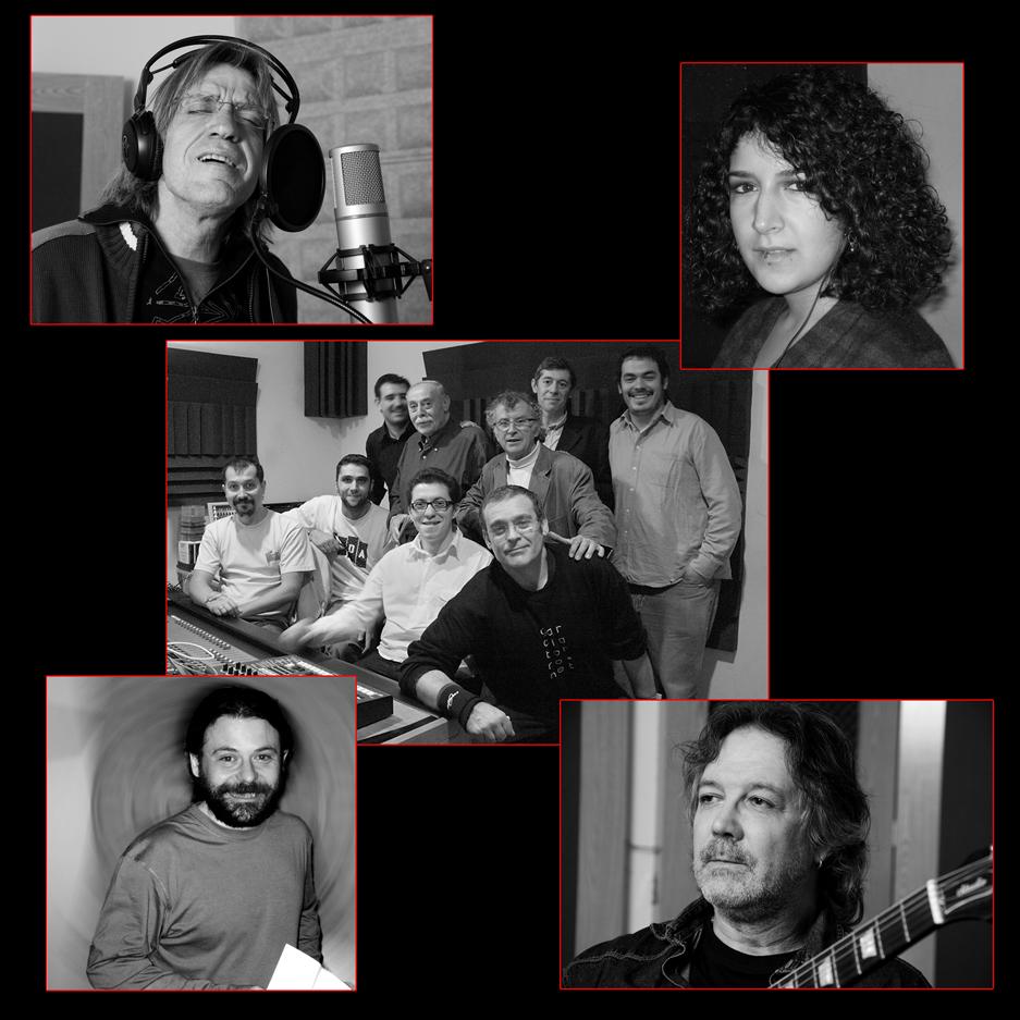 Colaboraciones en el disco Viento de Octubre