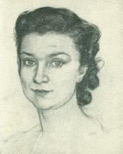 Josefina Romo Arregui (Retrato por Manuel León Astruc, 1889-1964))