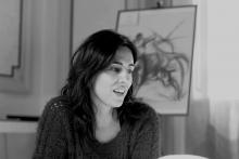 La poeta Raquel Lanseros (Foto extraída de www.jotdown.es/)
