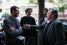 Con Fernando González Lucini e Fernando Lobo
