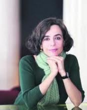 La poeta Nuria Barrios