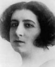La poeta Pilar de Valderrama