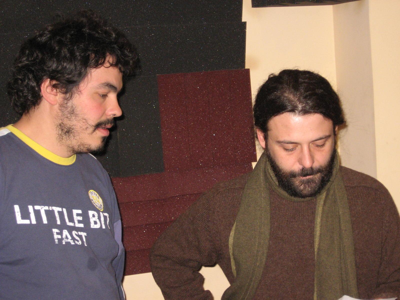 Colaboración de Carlos Chaouen en el disco Viento de Octubre